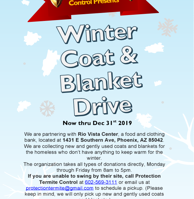Winter Coat and Blanket Drive